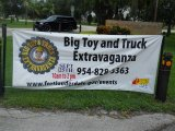 Big Toy and Truck Extravaganza Sign