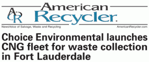American Recycler News Heading